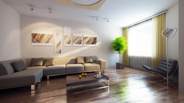 Городской застройщик предложил варианты удачного обустройства большой двухкомнатной квартиры