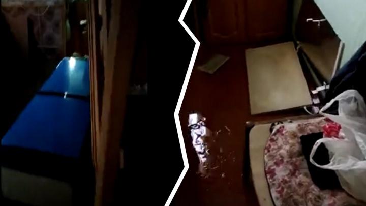 «Мебели [конец], полу — тоже»: ярославец снял на видео разрушенный потопом дом