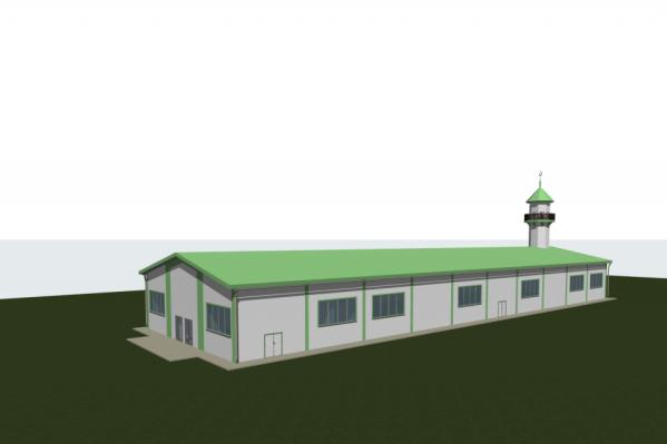 Эта мечеть будет считаться временной