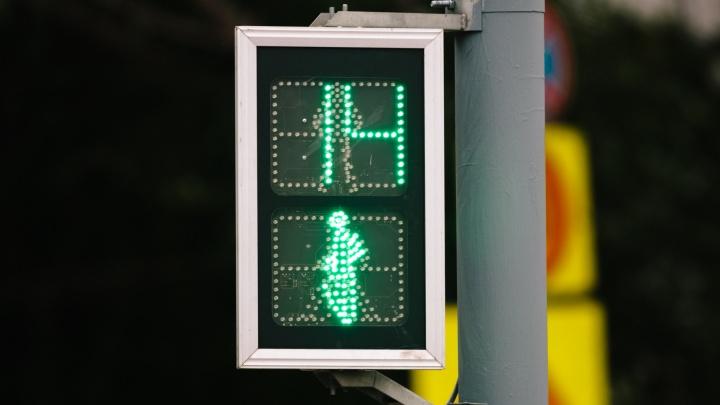 В Самарской области на трассе М-5 установят светофоры с кнопкой вызова