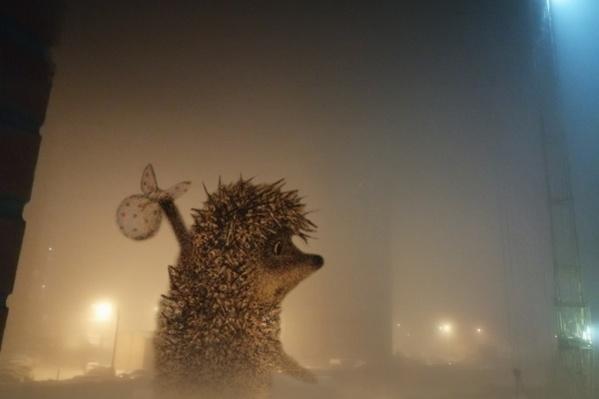 Плотная дымка окутала Красноярск
