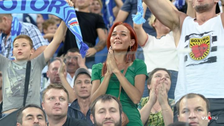 В Волгограде матч «Ротор» — «Луч» посетили13 118 человек