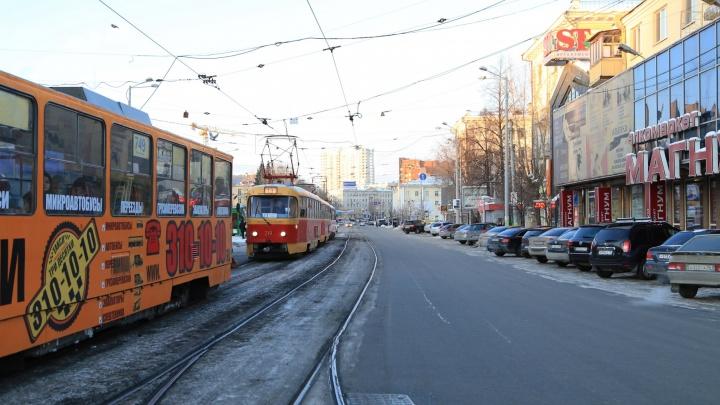 Запуск трамваев по Татищева перенесли на когда-нибудь