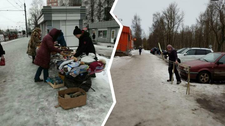 Убрал торговлю — убери тротуар: в Ярославле чиновники показали нечищеные тротуары в соцсетях