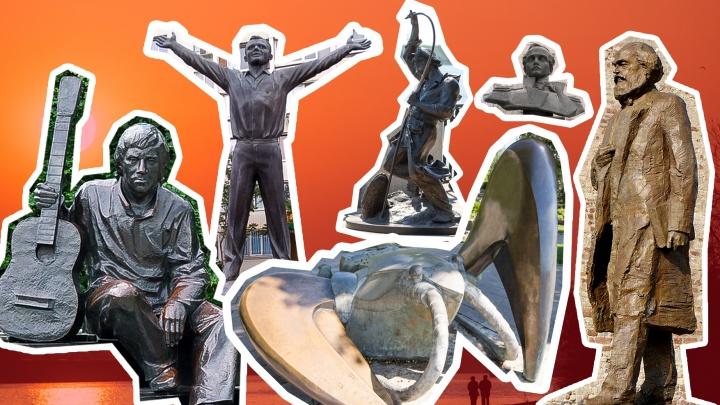 Чей Ленин? Отличите ростовский памятник от не ростовского