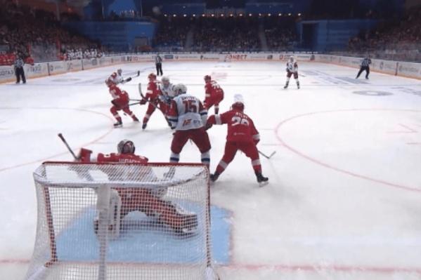 Ярославцам снова не повезло в игре со «Спартаком»