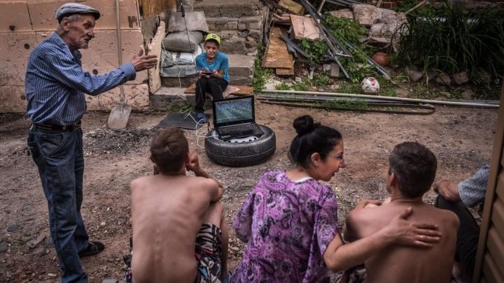 Известный фотожурналист показал миру нижегородские трущобы