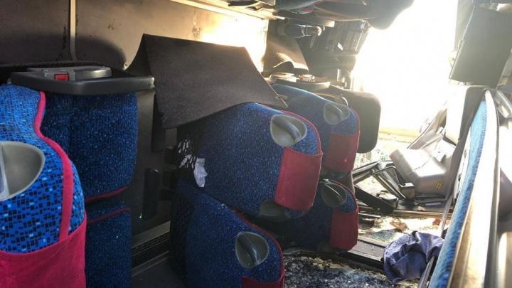 Среди пострадавших в ДТП с автобусом была беременная женщина