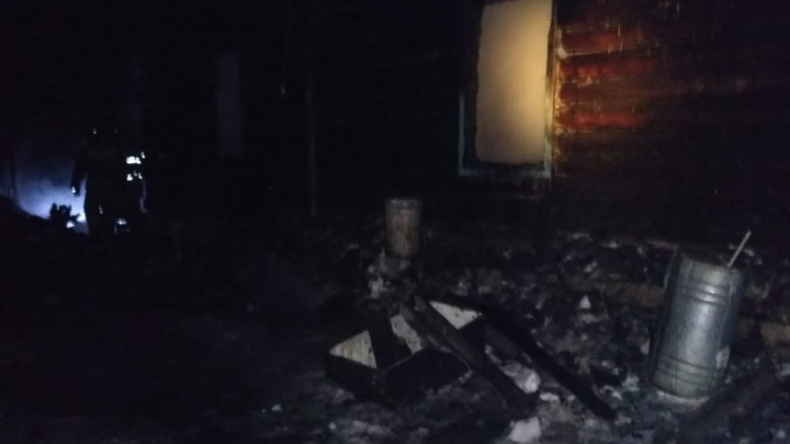 В Башкирии при пожаре погиб двухлетний ребенок