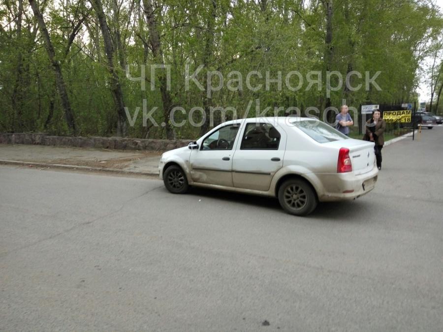 ВКрасноярске нетрезвый шофёр Mercedes напал на Рено Logan