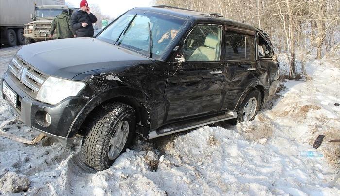В аварии на трассе «Иртыш» пострадали водитель и два пассажира