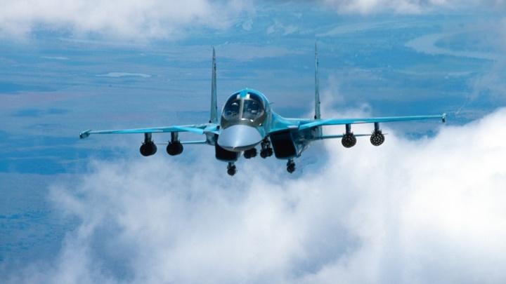 Военные летчики прилетели в Новосибирск за новой партией Су-34