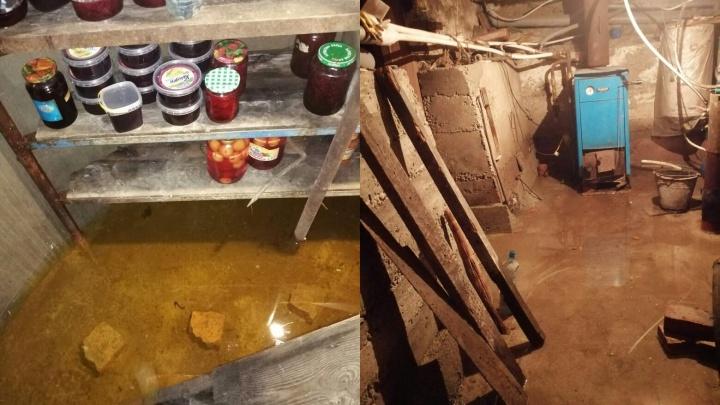 «Рушится фундамент домов, грибок, дети болеют». В Минусинске начало топить другие улицы
