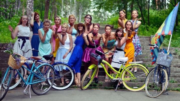 «Велодевичник» в Уфе: девочки в платьях проедут на велосипедах по улицам города