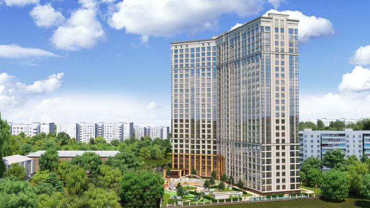 В 2020 году достроят новостройку с романтичным названием: холл на первом этаже выглядит как в лучших отелях