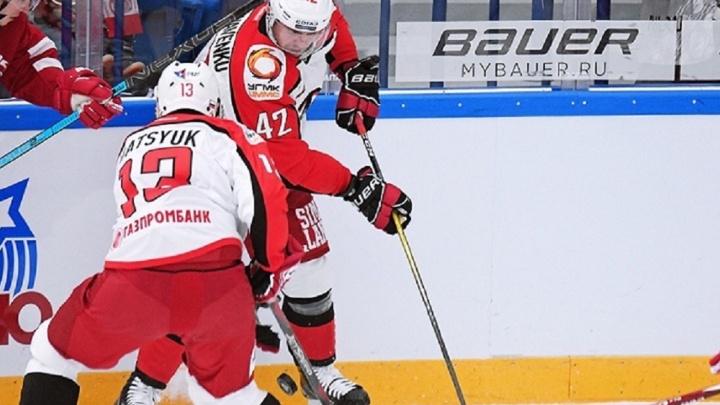 Реванш не удался: «Автомобилист» во второй раз в сезоне проиграл «Спартаку»