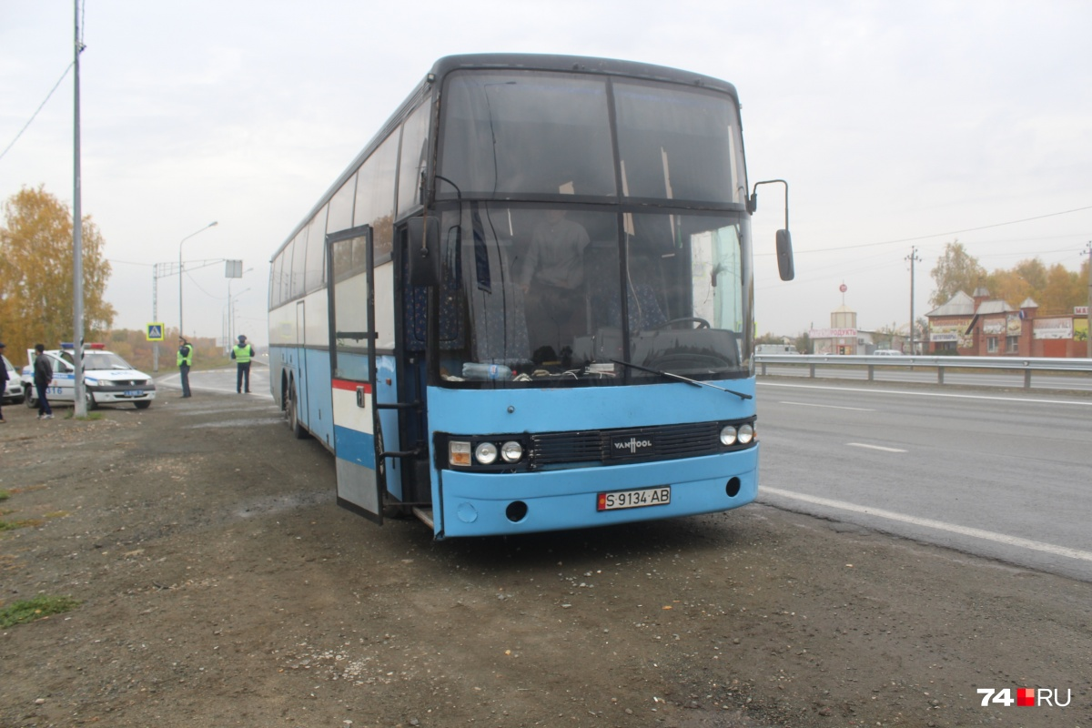 Автобус двое суток ехал из Москвы