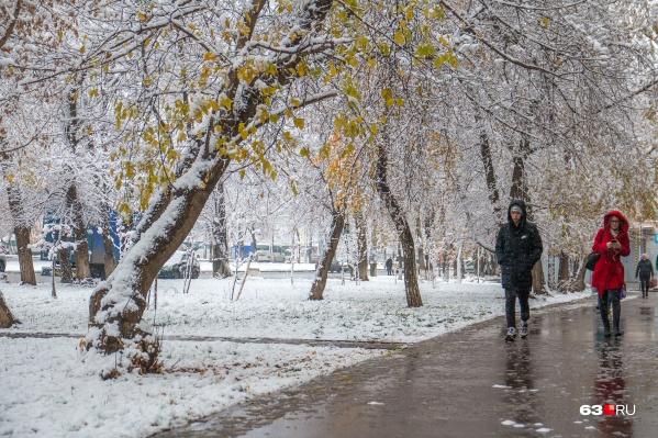 В ночь на субботу в регионе снова пройдет мокрый снег