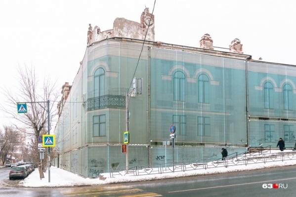 Вот так сейчас выглядит легендарное для Самары здание