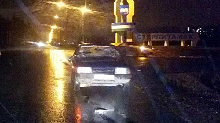 В Башкирии «Лада» сбила двух пешеходов: пострадавшие в больнице