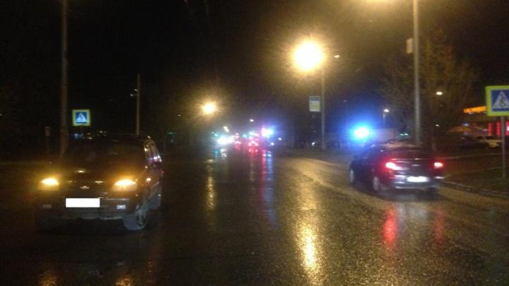 В Уфе водитель Chevrolet Niva сбил подростка