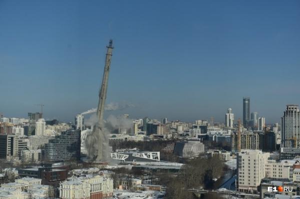 Взрыв телебашни — одно из самых громких событий в недвижимости города и страны