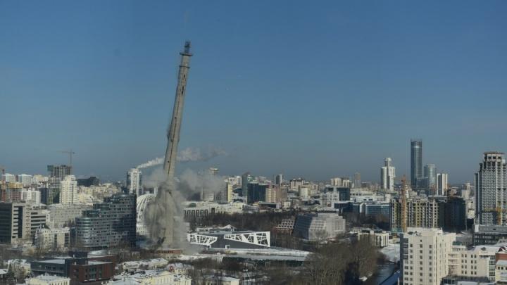 Два разрушения зданий Екатеринбурга в один день назвали самыми громкими сносами России