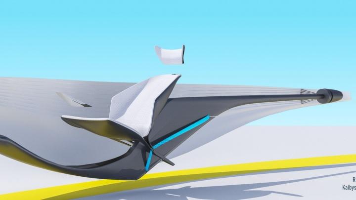 Как в кино: екатеринбургская студентка придумала проект беспилотного летающего автомобиля