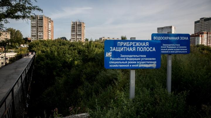 Отвоевали парк: мэрия передумала строить магистраль в русле реки