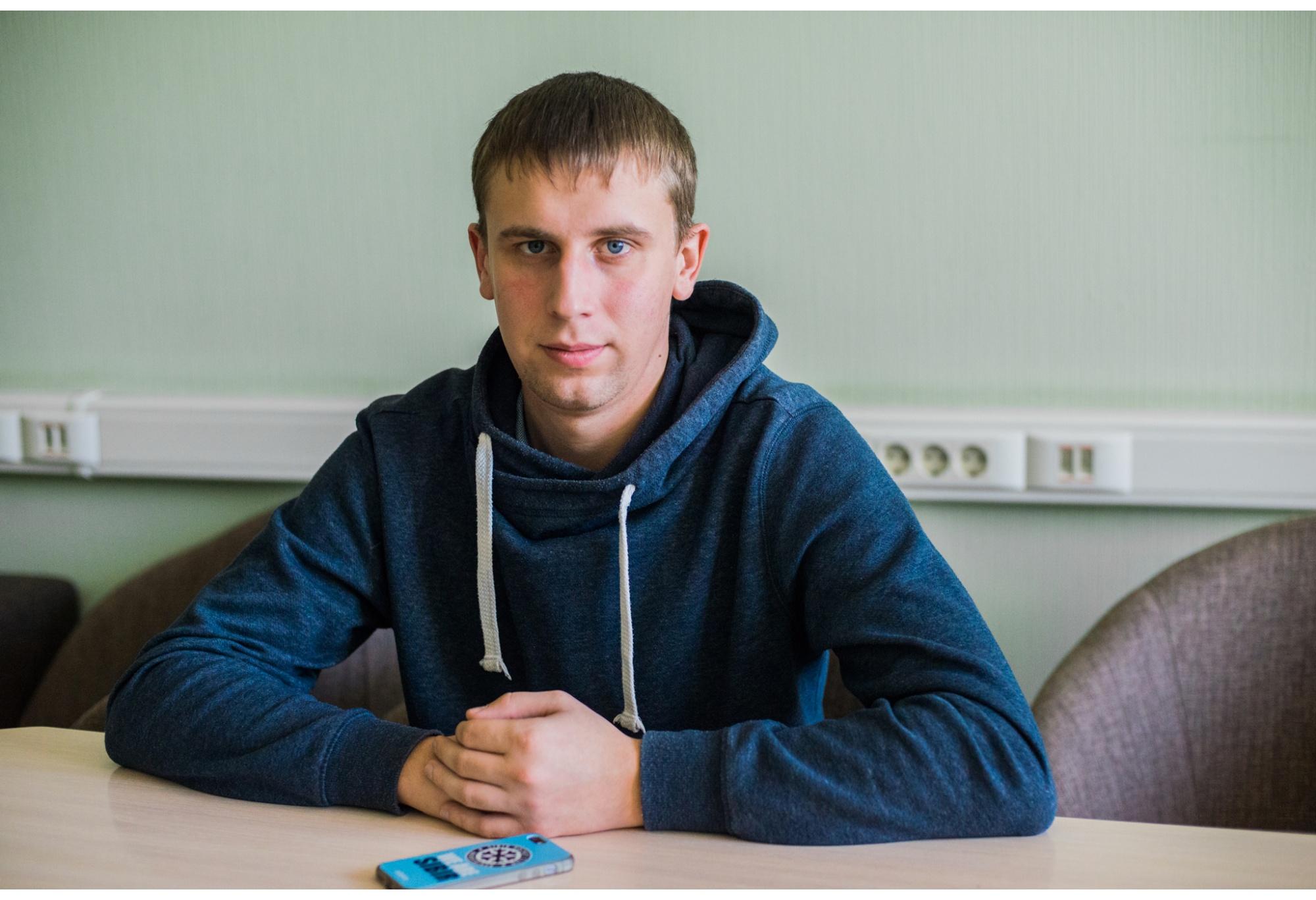 Дмитрию было всего 18 лет, когда он стал талисманом «Сибири»