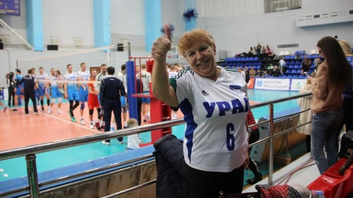 Волейболисты «Урала» вышли в полуфинал Кубка России