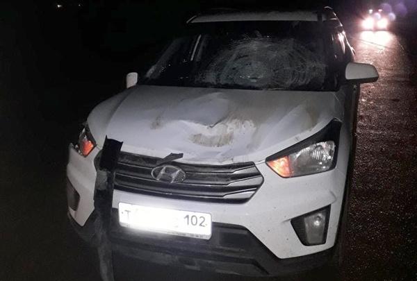 В Башкирии водитель паркетника сбил сразу двух пешеходов, один погиб