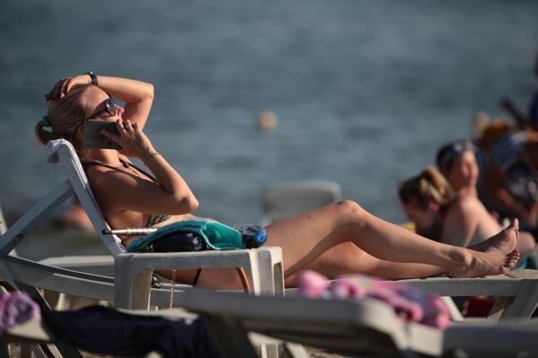 Пока в Челябинске официально работают только три пляжа из 15