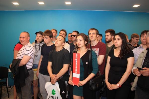 Открытие штаба Навального в Архангельске 14 августа 2017 года