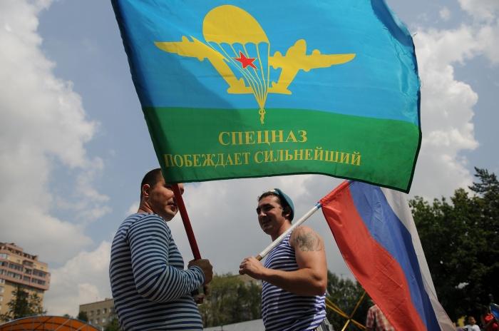 Отслужившие в ВДВ новосибирцы заявили, что Тайсон недостоин голубого берета