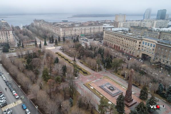 В Волгограде сегодня до+6 ºC
