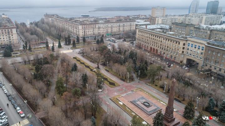Гидрометцентр: в Волгоградской области ожидается сильный ветер