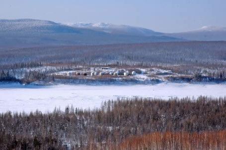 В поселке Учами живет 97 человек