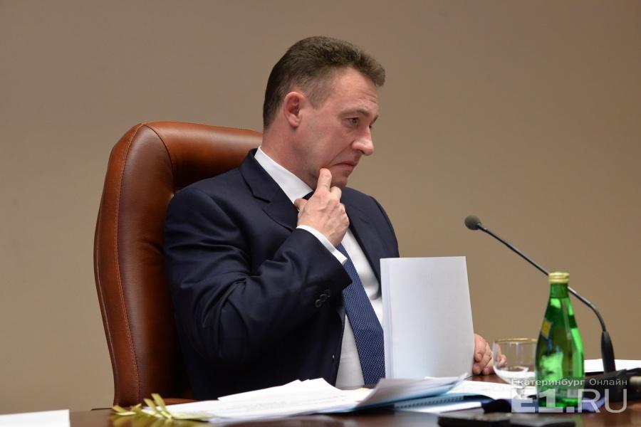 Холманских возглавлял уральское полпредство с 2012 года