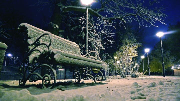 В горных районах Башкирии наступила настоящая зима