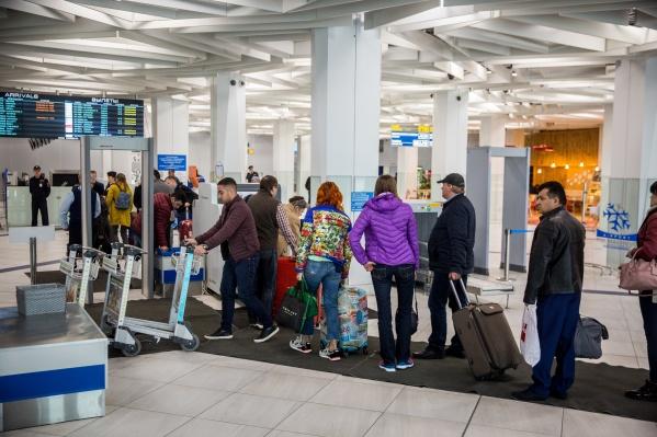 По зимнему расписанию аэропорт будет работать до 28 марта 2020 года