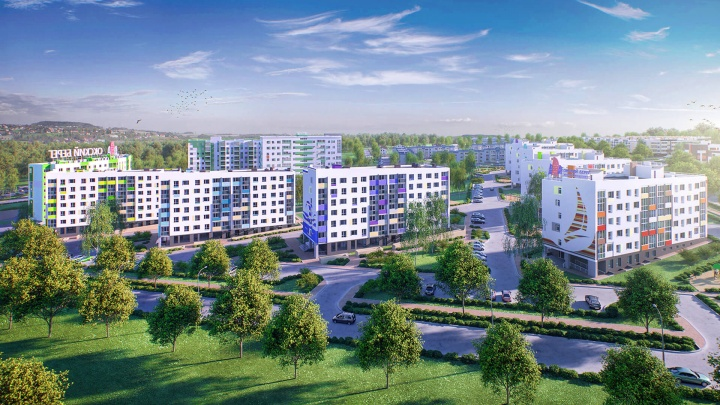 Девятый район Нижнего Новгорода.Как крупный ЖК срастается с региональным центром