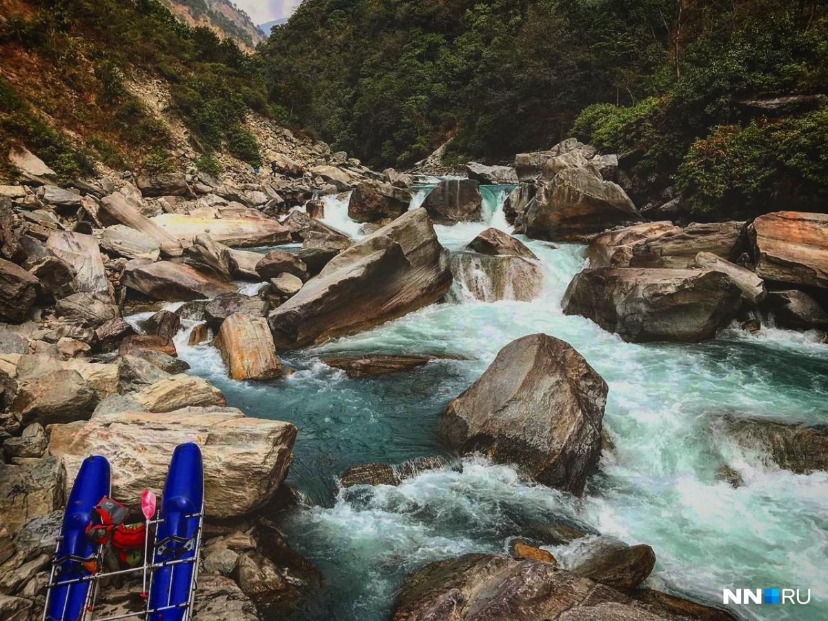 Нижегородцы совершили экстремальное путешествие по труднодоступной реке