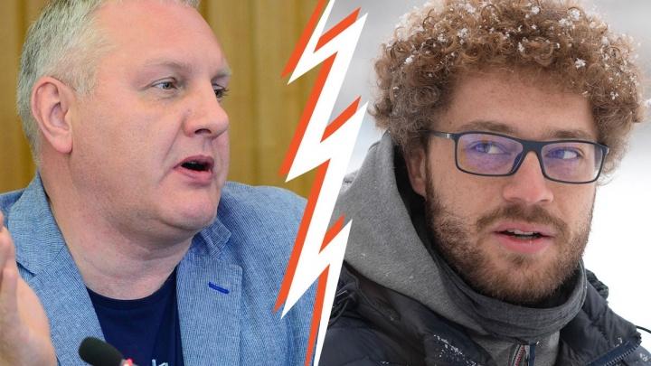 Варламов vs Колесников: спор депутата и блогера о наркоманах в скверах в пяти картинках