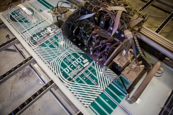 Для изготовления дипломов использовалась технология струйной печати