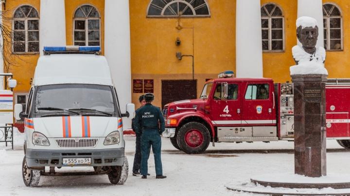 В ПГНИУ назвали причины пожара в пятом корпусе