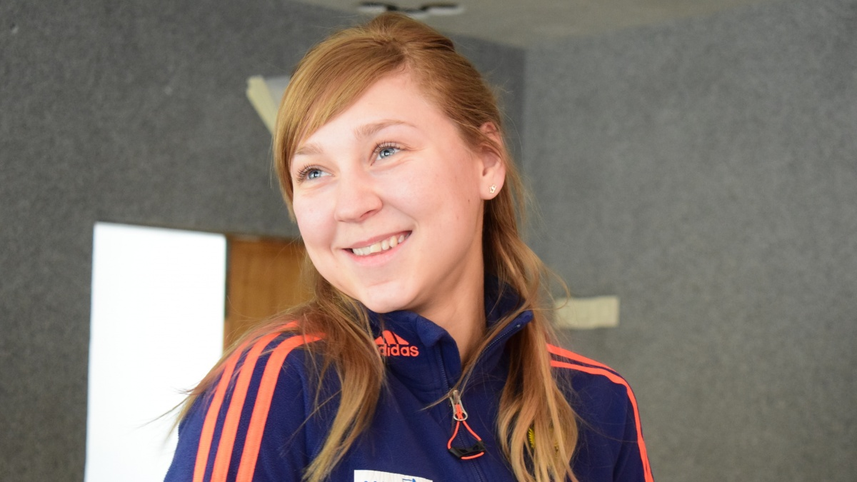 Вчера Евгения Павлова стала 6-й в гонке преследования