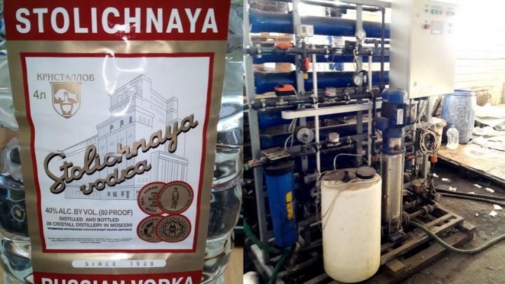 Столичную водку делали под Шадринском: зауральцев будут судить за подпольный спиртовой завод