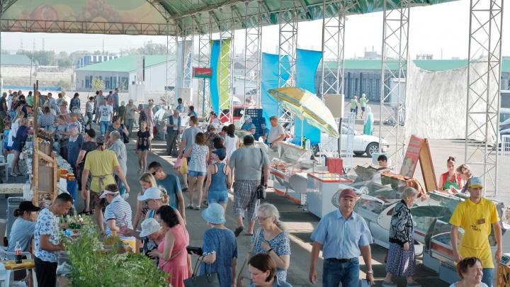 В Агротерминале стартовали сезонные ярмарки