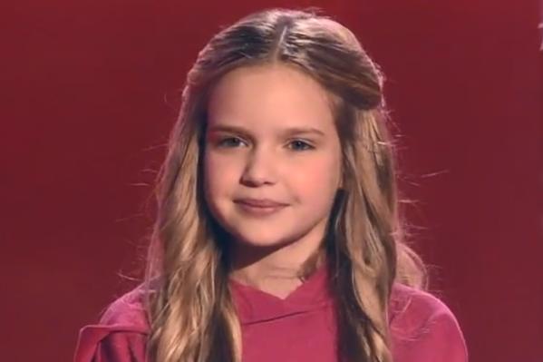 Девочка покорила всех своим голосом, заставив судей побороться за себя